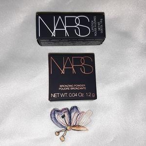 NARS Bronzer & Lipstick Minis